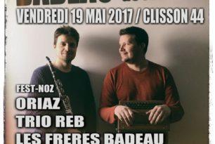 Les Frères Badeau 20 ans de scène en 2017!