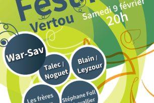 Fest Noz à Vertou 9 février
