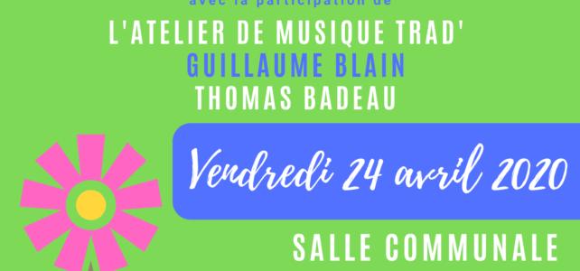Jam Trad à Maisdon sur Sèvre 24 avril 2020
